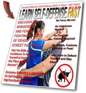 Learn Self-Defense Fast Newsletter